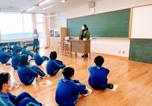 荒浜中学校 と産学官連携<あらはMAP>