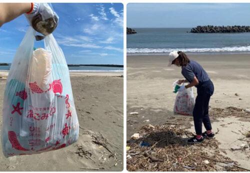 亘理町荒浜海岸にて清掃活動を実施